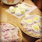 Easter pies. Continuing tradition