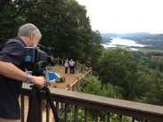 Video shoot, Cold Spring, NY