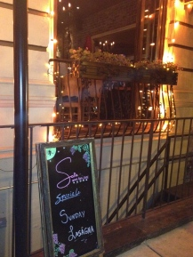Delicious find! Sofia's Wine Bar & Cafe, NYC