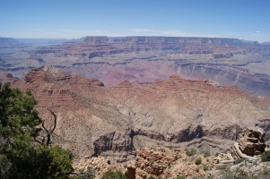 Experiencing wonders of the world. Grand Canyon