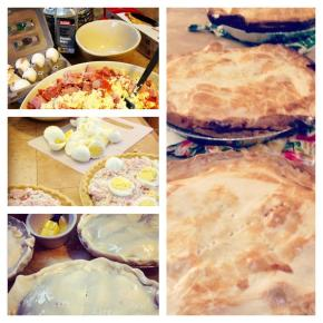 Easter Pies for Nina &Josephine